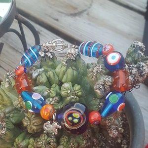 Florida Gators glass bracelet